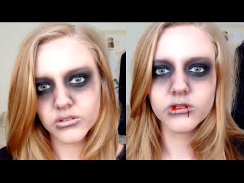 Zombie/Dead Person ♡ Halloween Makeup Tutorial | LulaBella11 ...