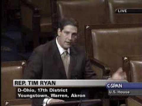 Congressman Ryan brings it