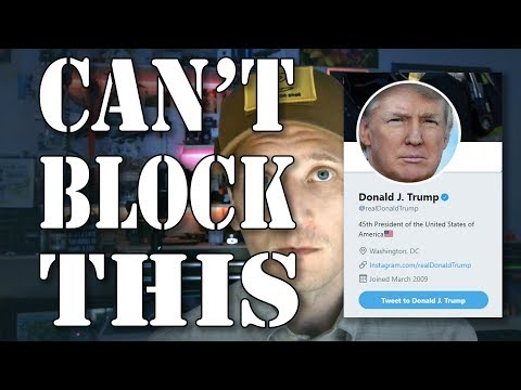 Try Muting Instead - Judge Rules Trump Can't Use Twitter Block