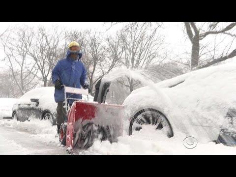 Major winter storm dumps snow across the Northeast