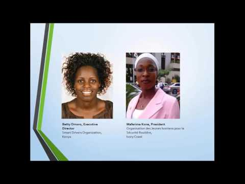 Webinar 2 - Introduction to Three Star Coalition  - Global Alliance of NGOs for Road Safety