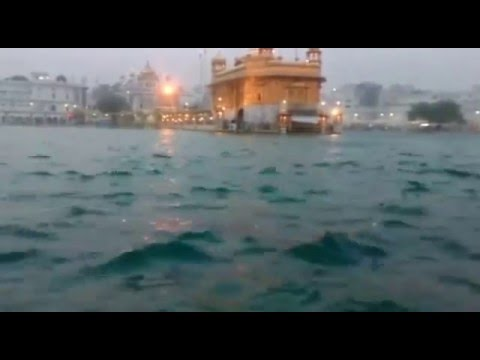 Heavy Windstorm at Sri Darbarsahib Amritsar