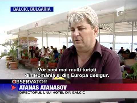 Sergiu Voicu, Bulgaria lupta pentru turisti, Romania, Antena 1, Balcic, Albena
