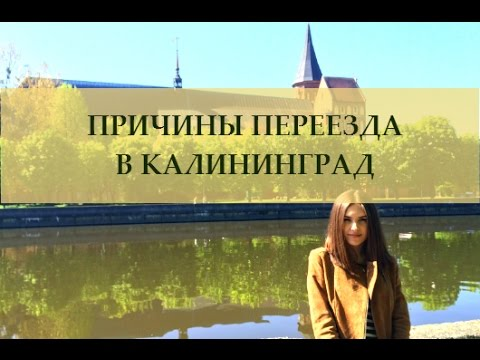 Наши причины переезда в Калининград на ПМЖ. Переезд в другой город.