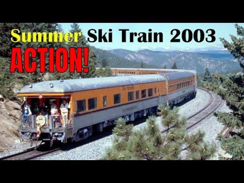 Summer Ski Train to Winter Park, CO, Aug. 2, 2003