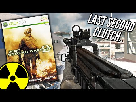 Last Second Clutch P90 NUKE (Daily Dose MW2 Nukes In 2021..)