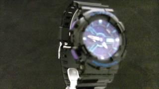 Мужские наручные часы CASIO - GA-110HC-1A(Производитель CASIO Коллекция G-Shock стрелочные Ref GA-110HC-1A Корпус пластик Размер корпуса 55 х 51,2 мм, толщина..., 2012-01-30T09:59:04.000Z)