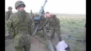 DP3A .50 CAL (x6) HEAVY MACHINE GUN, Night Shoot. Wainwright, Alberta, Canada 2008
