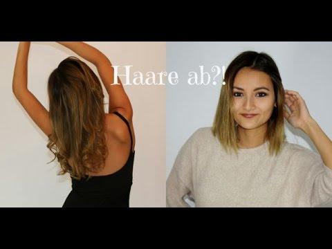 Lange Haare Abschneiden Lang Auf Kurz Haare Abgebrochen Youtube