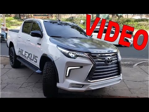 NUEVO TOYOTA HILEXUS 2020-2021 HILUX 2020 REVIEW VIDEO PICK UP LEXUS