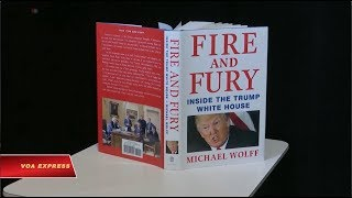 Tòa Bạch Ốc đau đầu với cuốn sách viết về Trump