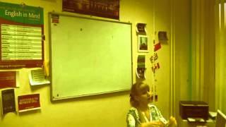 Фрагмент первых уроков студента в Love English Club