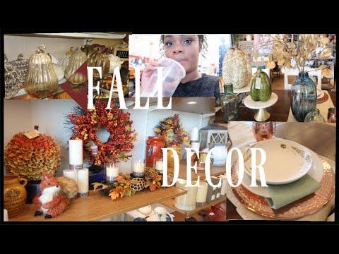 Fall Decor Shopping || Pier 1 | Homegoods