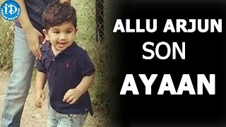 Allu Arjun's Son Allu Ayaan Latest Stills in Zoo | Sneha Reddy