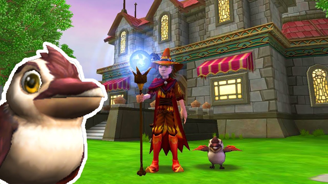 Wizard101: First Pet I Made From the Kiosk! - NEW Fire