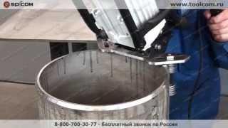 видео Резка арматуры :: Механическая обработка и подготовка арматуры