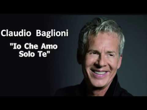 Claudio Baglioni - Io Che Amo Solo Te (Video karaoke)