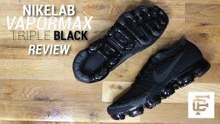NIKELAB TRIPLE BLACK VAPORMAX REVIEW