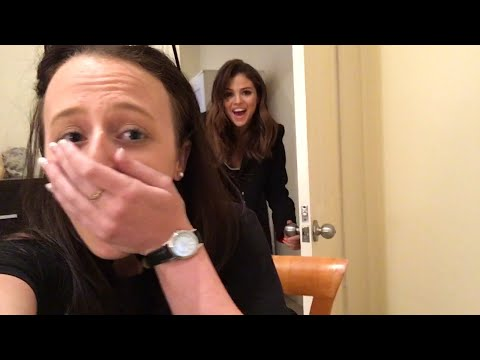 Selena Gomez Surprises Ultimate Fan With Real-Life Photobomb!