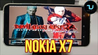 Nokia X7 DamonPS2 Pro test/PS2 Games/Snapdragon 710/Nokia 8.1 Plus Gameplay