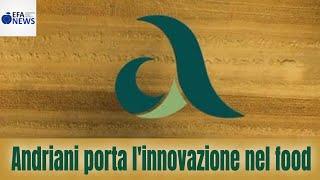 Andriani porta l'innovazione nel food