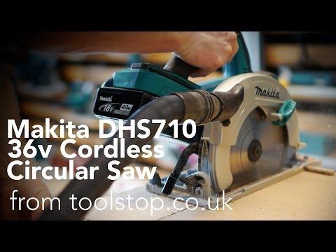 Makita DHS710ZJ 36v Li-Ion Cordless Circular Saw - Toolstop Demo