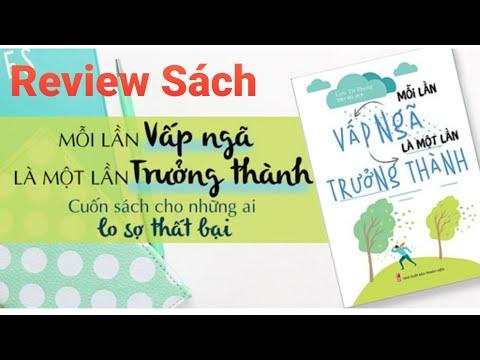 Review Sách Mỗi Lần Vấp Ngã Là Một Lần Trưởng Thành    Sách Tóm Tắt    Sách Review