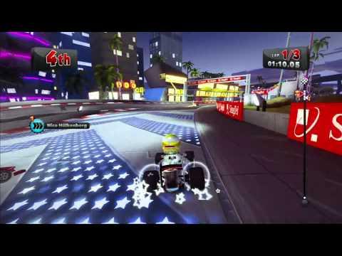F1 Race Stars - Gameplay (Singapore)
