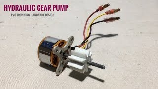 How to Make RC Construction Tractor Truck Hydraulic Gear Pump Handmade Design at home #1