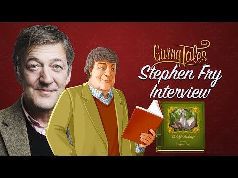 Stephen Fry's Interview with GivingTales