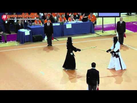 Kendo「剣道」- 15th WKC Men Semi Final Court C (Japan vs Korea) [VID:20120525003]