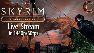 Skyrim Special Edition Live Stream, 1440p/60fps! Delvin Mallory Quests, Lvl 42, Part 34 Legendary
