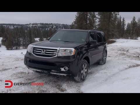 Off-Road Drive: 2014 Honda Pilot SNOWY (Super Bowl XLVIII ...