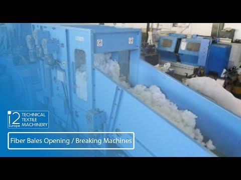 Fiber Bales Opening/Breaking Machines