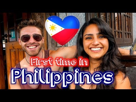 FIRST TIME IN THE PHILIPPINES: HER THOUGHTS 🇵🇭