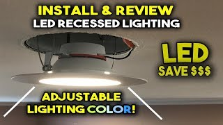 How to Install LED Recessed Lighting