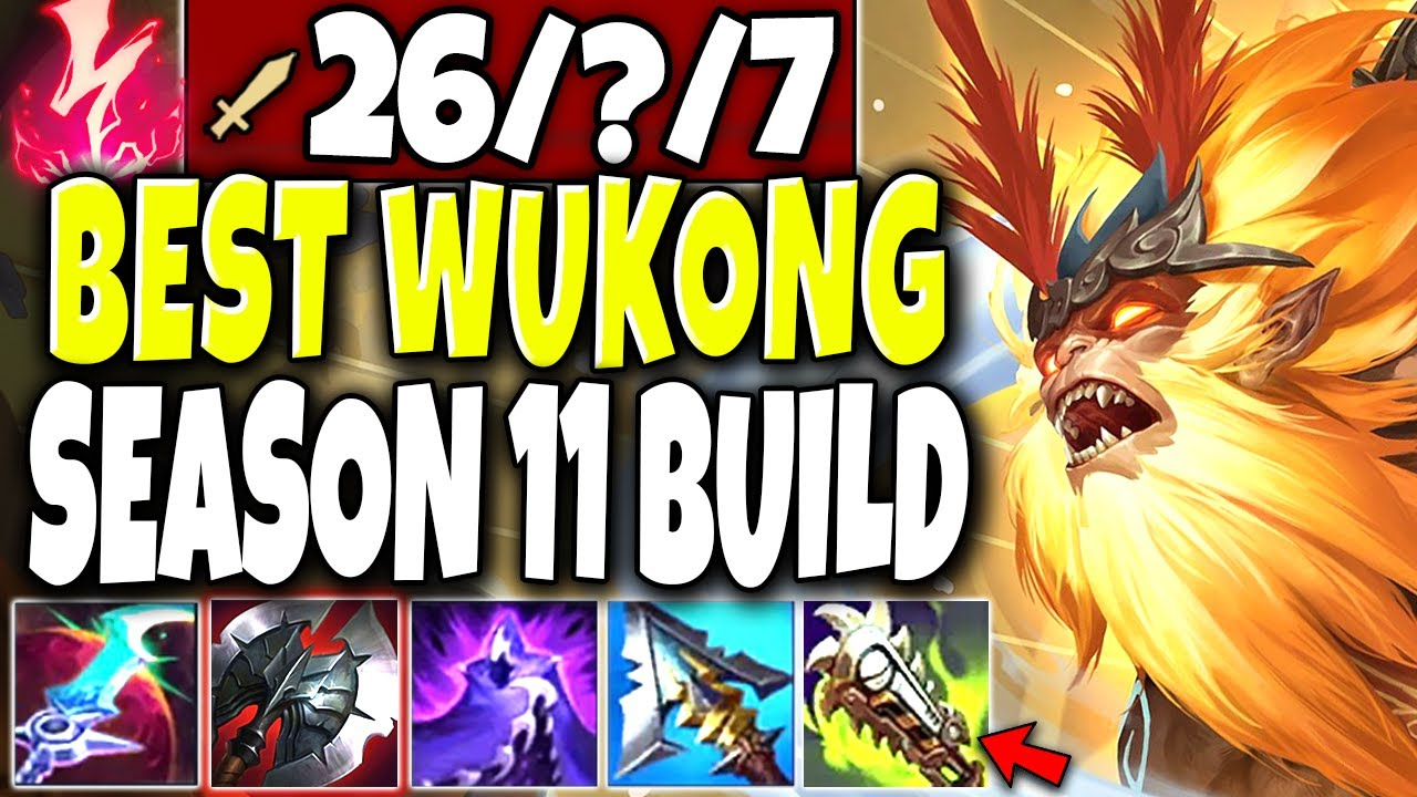 Wukong Build Guide My Full Lethality Armor Penetration Amp Pta Wukong Build League Of Legends Strategy Builds