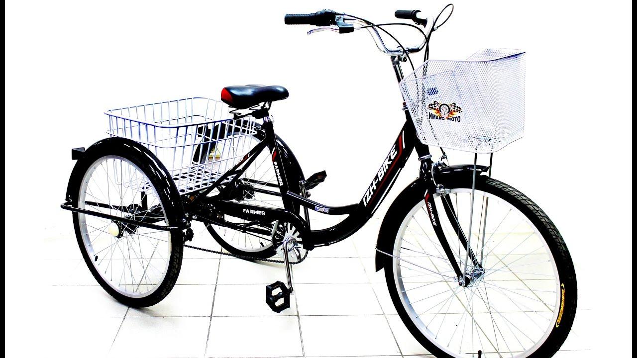 Велосипед Иж Байк Фермер 24 с мотором