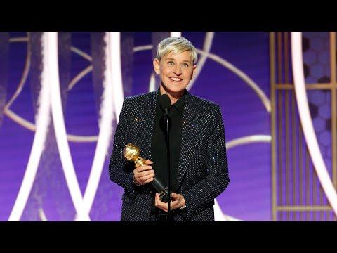 Ellen DeGeneres' Acceptance Speech for Carol Burnett Award: Watch the Highlights | Golden Globes
