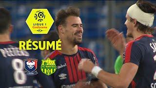 SM Caen - FC Nantes (3-2)  - Résumé - (SMC - FCN) / 2017-18