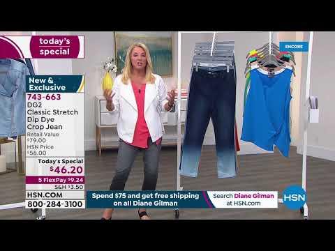 HSN | Diane Gilman Fashions 04.04.2021 – 05 AM