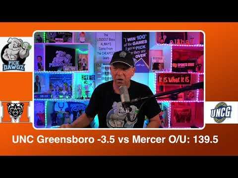 UNC Greensboro vs Mercer 3/8/21 Free College Basketball Pick and Prediction CBB Betting Tips