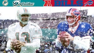 Marino & Kelly Winter Wonderland Duel! (Dolphins vs. Bills, 1990 AFC Divisional)