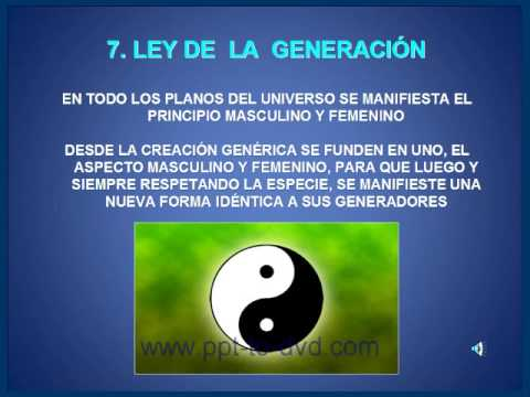 LAS 7 LEYES DE LA METAFÍSICA - YouTube