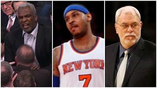 Charles Oakley, Carmelo Anthony, Phil Jackson | Have the Knicks Hit Rock Bottom?