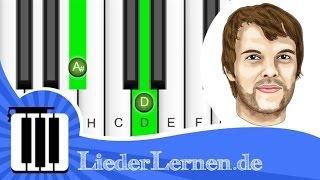 Sportfreunde Stiller - Das Geschenk - Klavier lernen - Musiknoten - Akkorde
