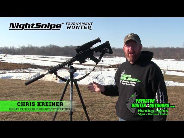 NightSnipe Tournament Hunter Tripod Review