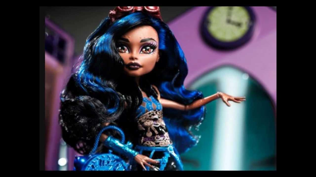 New monster high doll robecca steam youtube - Robecca monster high ...