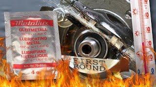 Gleitmetall Metaflux Test smaru z tytanem 100°C