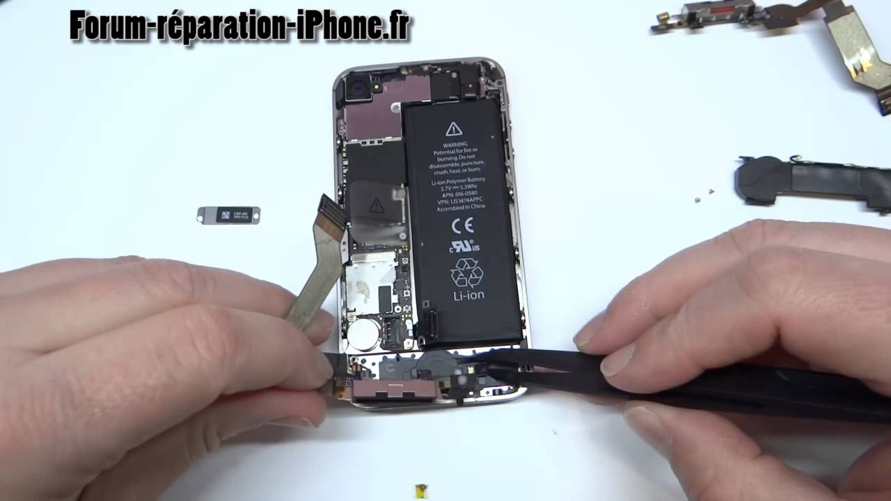 Connecteur De Charge Iphone  S